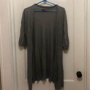New York and company grey cover up, XL